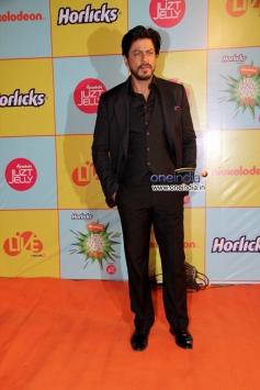 Shahrukh Khan at Nickelodeon Kids Choice Awards 2013