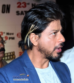 Shahrukh Khan reveals his new hairstyle for film Happy New Year
