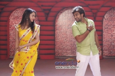 Shanvi Srivastava and Chiranjeevi Sarja in Kannada Film Chandralekha