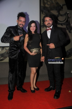 Sharib and Toshi with Amy Bollimoria  at French Kiss music album