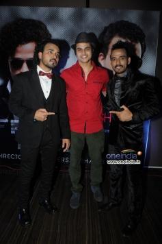 Sharib and Toshi with Gaurav Dagaonkar at French Kiss music album