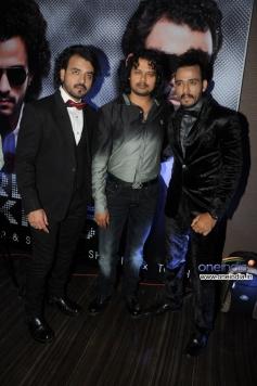 Sharib and Toshi with Raja Hassan at French Kiss music album