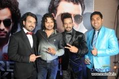 Sharib and Toshi with Raja Hassan and Jaswant Singh Rathore at French Kiss music album
