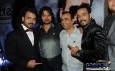 Sharib and Toshi with Raja Hassan and Yogesh at French Kiss music album