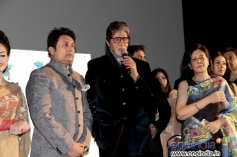 Shekhar Suman and Amitabh Bachchan during the trailer launch of Heartless