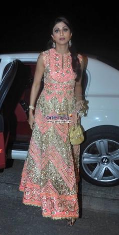 Shilpa Shetty at Ekta Kapoor's Diwali Bash 2013