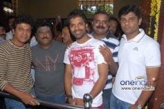 Shivrajkumar, Jaggesh, Sathish Ninasam at Petromax Film Launch