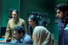 Shobana, Dhyan Sreenivasan in Malayalam Movie Thira