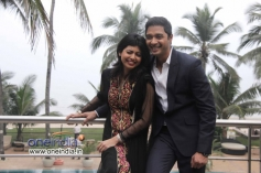 Shreyas Talpade along with his wife Deepti at his second home production launch