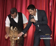 Shreyas Talpade with director Subhash Ghai at his second home production
