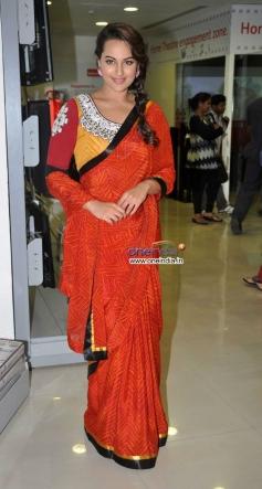 Sonakshi Sinha during the promotion of film R... Rajkumar