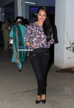 Sonakshi Sinha during the special screening of Bullet Raja