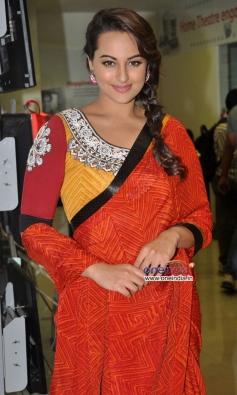 Sonakshi Sinha at promotion of film R... Rajkumar