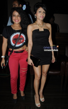 Sonu and Neha Kakkad at French Kiss music album