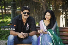 Srikanth and Kamna Jethmalani stills from Hunter Movie