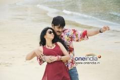 Srikanth and Kamna Jethmalani stills from Hunter Movie