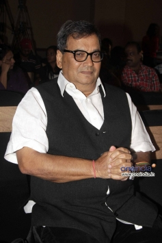Subhash Ghai at launch of Shreyas Talpade's second home production