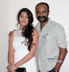 Sukrutha and Kishore at Jatta Film Success Meet