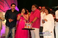Suman, Priya Hassan, Ambareesh, Jayanthi at Suman, Priya Hassan, AmbareesSmuggler Film Audio Release