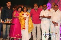 Suman, Priya Hassan, Jayanthi, Ambareesh, Narayana Gowda at Smuggler Film Audio Release