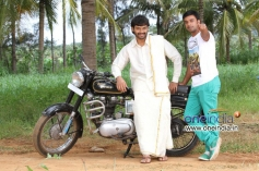 Sumanth Shailendra and Akshay in Kannada Movie Bettanagere