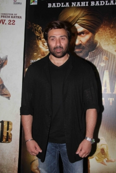 Sunny Deol at Singh Sahab The Great Special Screening