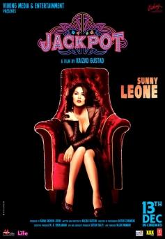 Sunny Leone's film Jackpot poster
