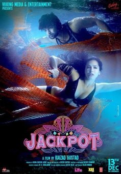 Sunny Leone and Sachiin Joshi film Jackpot poster