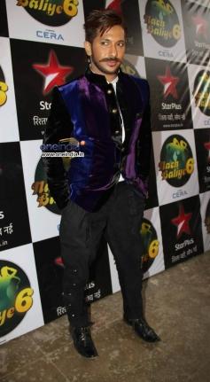 Terrence Lewis at Diwali Celebration on the Sets of Nach Balliye