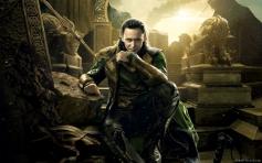 Tom Hiddleston still from film Thor The Dark World