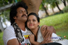 Upendra and Bhavana in Swiss Bank Ki Daaredi