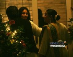 Vaibhavi Merchant arrive at Aditya Chopra Diwali Bash 2013