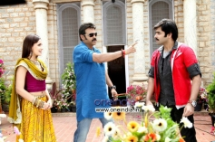 Venkatesh and Ram Pothineni in Masala Movie