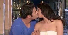 Vijay Singh Kisses Mallika Sherawat on The Bachelorette India