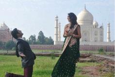 Vijay Singh Proposes Mallika Sherawat at Taj Mahal