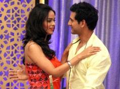 Vijay Singh with Mallika Sherawat