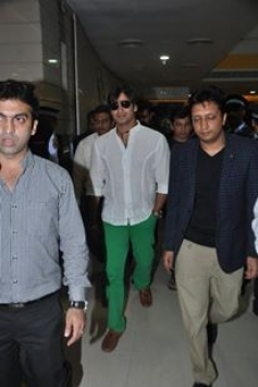 Vivek Oberoi during the special screening of Krrish 3 for kids