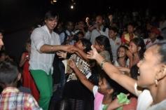 Vivek Oberoi meet the kids at the special screening of Krrish 3 film