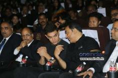 Kamal Hassan and Aamir Khan at 11th CIFF Inaugural Function Photos