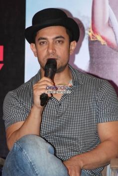 Aamir Khan at Dhoom 3 film promotion at Chennai