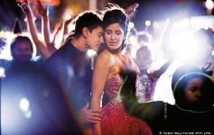 Aamir Khan and Katrina Kaif lovely still from film Dhoom 3
