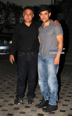 Aamir Khan at Mansoor Khan anniversary celebrations