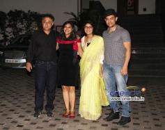 Aamir Khan and Kiran Rao at Mansoor Khan anniversary celebrations
