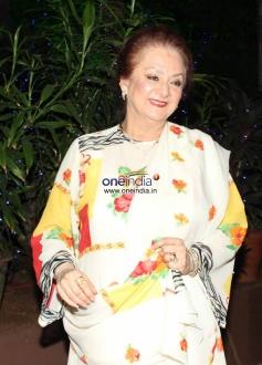 Aasma at Dilip Kumar's birthday Party Celebration