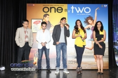 Abhay Deol addressing media at the trailer launch of film One By Two