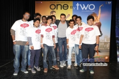 Abhay Deol during the trailer launch of film One By Two