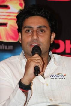 Abhishek Bachchan at Dhoom 3 film promotion at Chennai