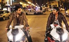 Abhishek Bachchan and Uday Chopra still from film Dhoom 3