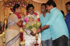 Actor Black Pandi Wedding Reception Photos