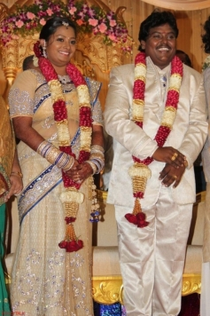 Black Pandi & Umeshwari Padmini Wedding Reception Photos